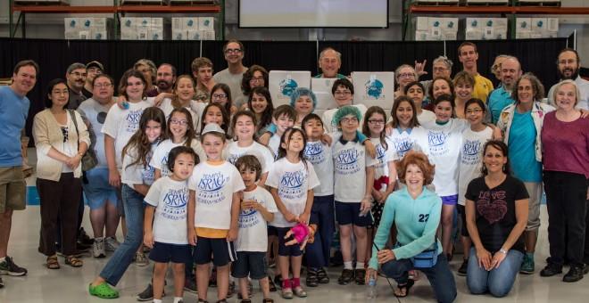 Our Hebrew School Students Help The Feeding Children Everywhere Program