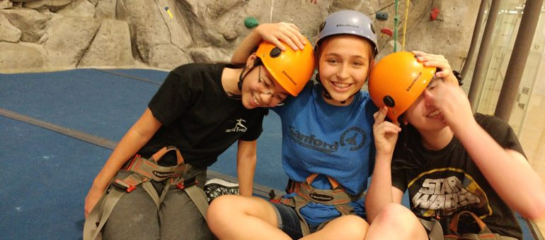 Youth Kadima Rock Climbing - 2016