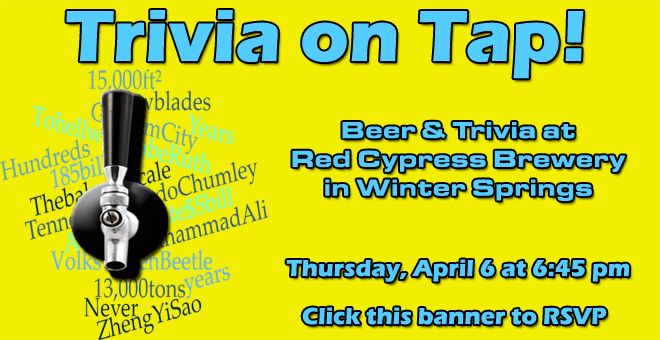 Trivia on Tap with Temple Israel