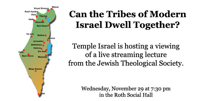 Can the Tribes of Modern Israel Dwell Together?