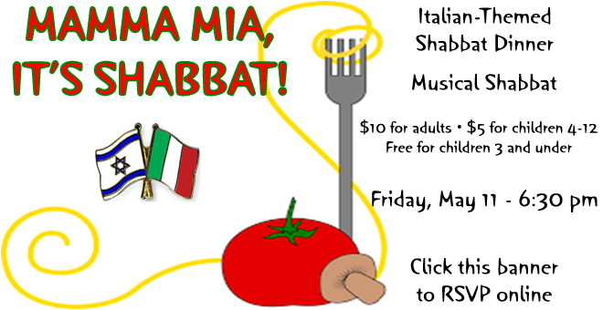 Mamma Mia! It's Shabbat Dinner!