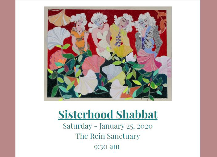 Sisterhood Shabbat Slider