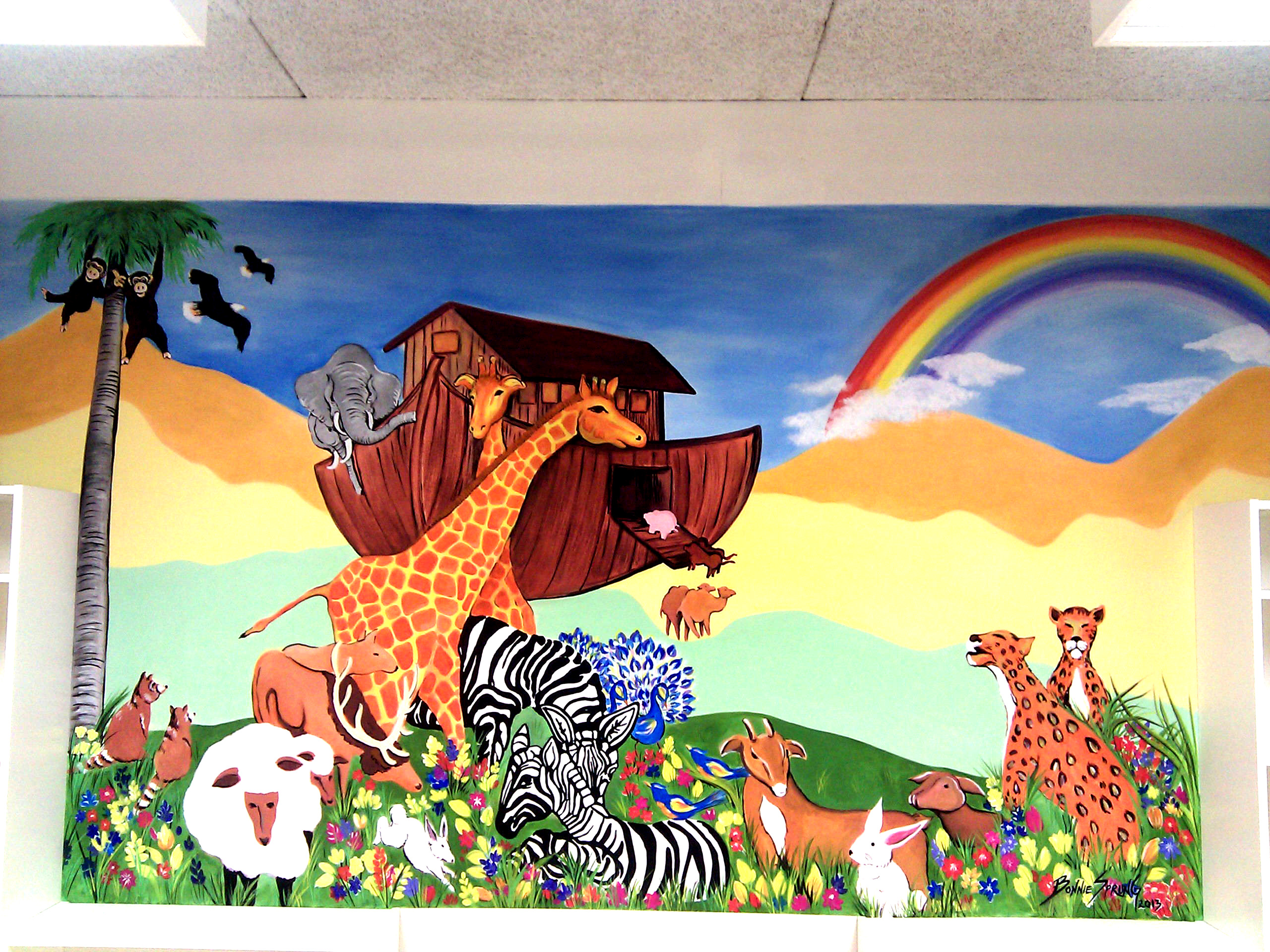 Children's Library Mural