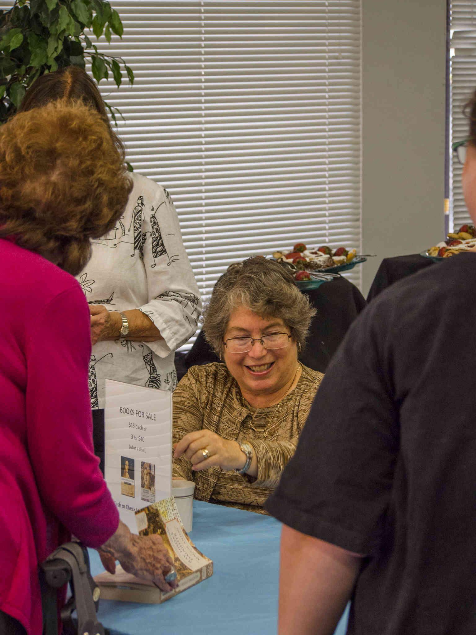 Maggie Anton Signing Books