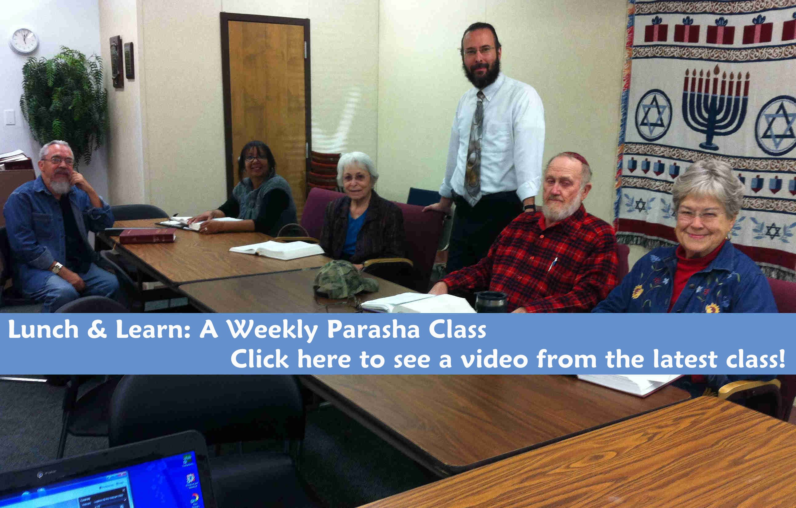 Lunch & Learn: A Weekly Parasha Class