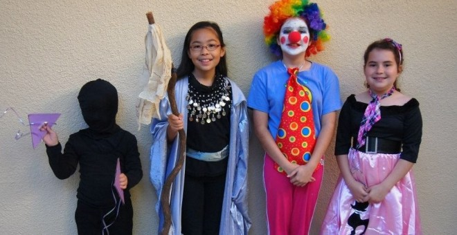 Purim Carnival at Temple Israel - 2014